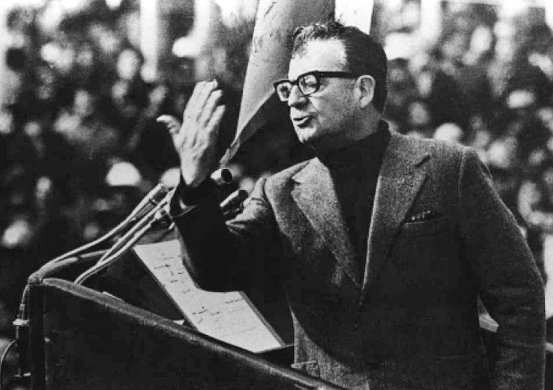 Le président chilien, Salvador Allende, en 1973.