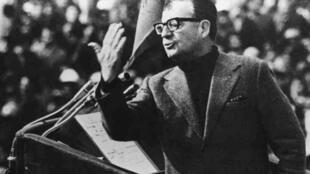 L'ex-président chilien, Salvador Allende, en 1973.