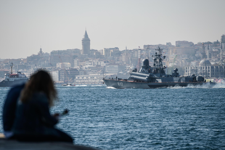 The Bosphorus Strait runs through Istanbul