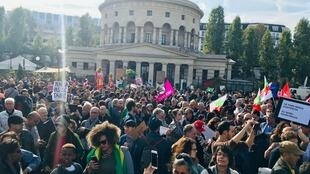 Rassemblement contre le fascisme au Brésil