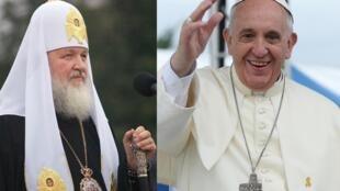 Patriarca Cirilo 1º, da Igreja Ortodoxa Russa, e o papa Francisco se reunião nesta sexta-feira, em Cuba.