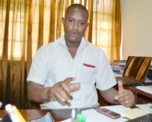 Alexandre Niyungeko, président de l'UBJ  (Union des journalistes burundais)