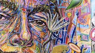 Un visuel de l'exposition «Dali fait le mur» à l'espace Dali à Paris.