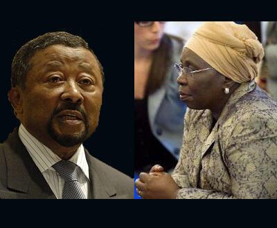 Jean Ping na Dlamini Zuma