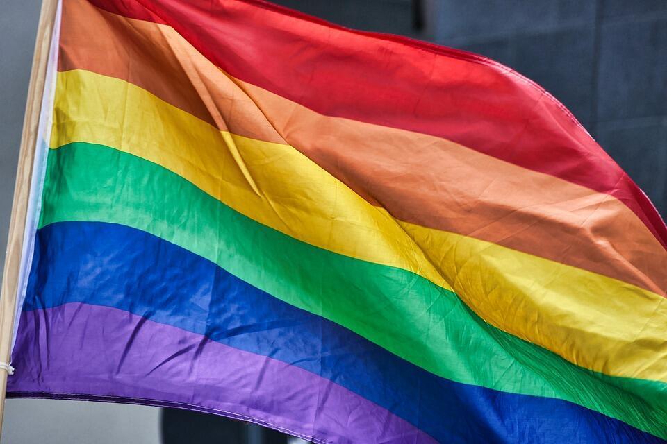 LGBTQI+ flag