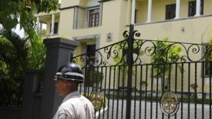 Nunciatura apostólica donde residaba Josef Wesolowski, en Santo Domingo, este 4 de septiembre de 2013.