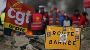 法国工会劳工联盟(CGT)在目前的罢工运动中起到关键作用