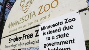 Comme tous les édifices publics du Minnesota, le zoo de la ville de Saint Paul est fermé jusqu'à nouvel ordre.