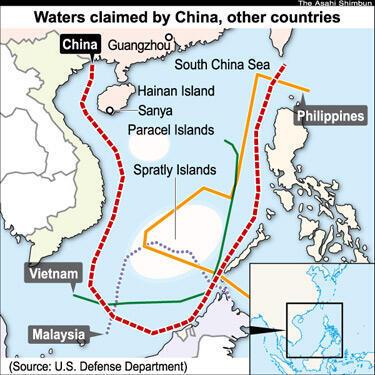 Đòi hỏi chủ quyền của các quốc gia ven Biển Đông.