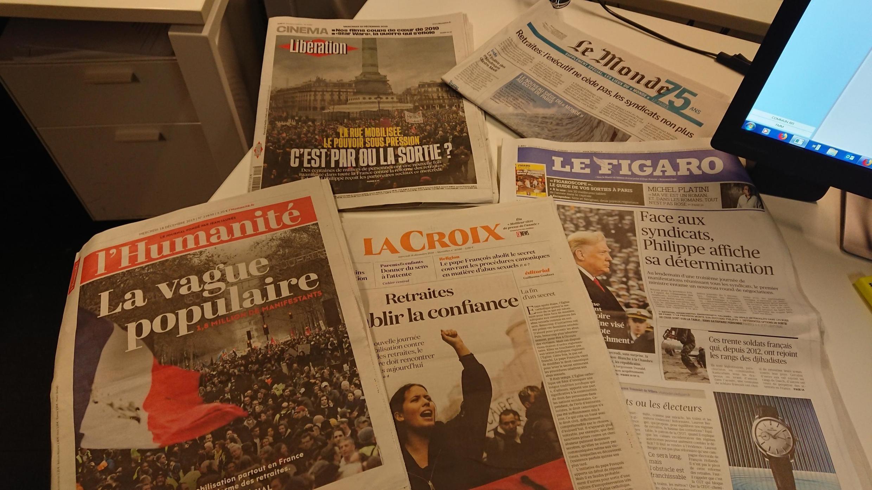 Diários franceses 18 12 2019