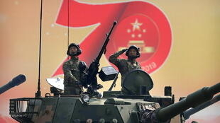 Chine - parade militaire