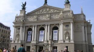 Opéra de Lviv, Ukraine