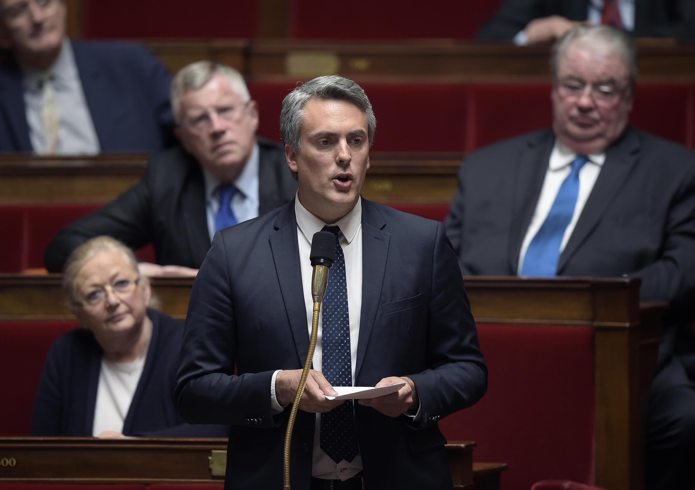 Sébastien Denaja, député PS de l'Hérault et vice-président du groupe socialiste à l'Assemblée nationale