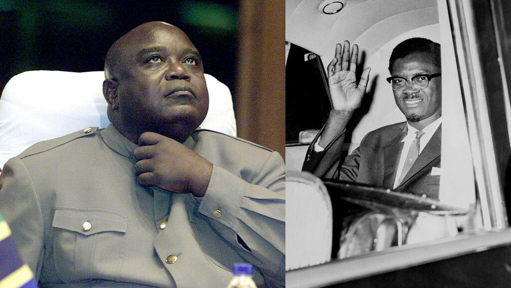 L'ancien président congolais Laurent-Désiré Kabila, assassiné le 16 janvier 2001 à Kinshasa, et Patrice Lumumba, assassiné le 17 janvier 1961 au Katanga.