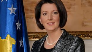 Le mandat de l'actuelle présidente du Kosovo, Atifete Jahjaga, se termine en avril 2016.