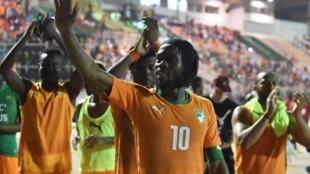 Gervinho et la Côte d'Ivoire vainqueurs de Madagascar (image d'illustration).