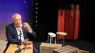 """اریک امانوئل اشمیت، بر صحنه تئاتر """"ریو گوش"""""""