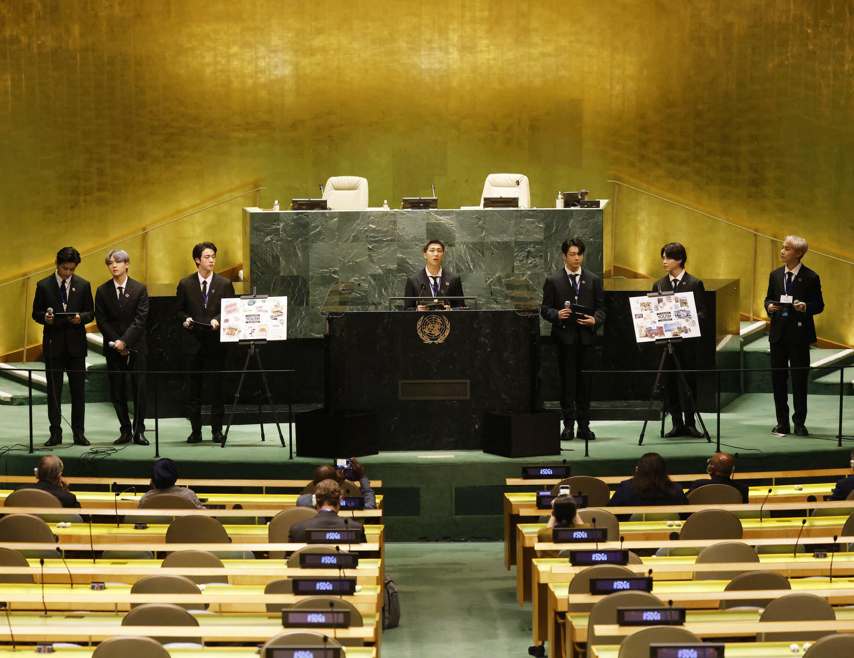 BTS - Assemblée générale de l'ONU