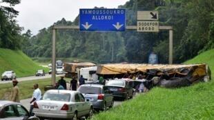 voiture autoroute abidjan cote ivoire
