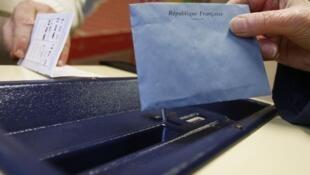 دور اول انتخابات منطقه ای در فرانسه