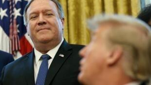 O secretário de Estado americano, Mike Pompeo, confirmou a decisão do presidente Donald Trump sobre o Acordo de Paris
