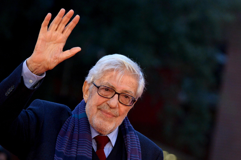 El cineasta italiano Ettore Scola en el Festival de cine de Roma, le 18 octubre de 2015.