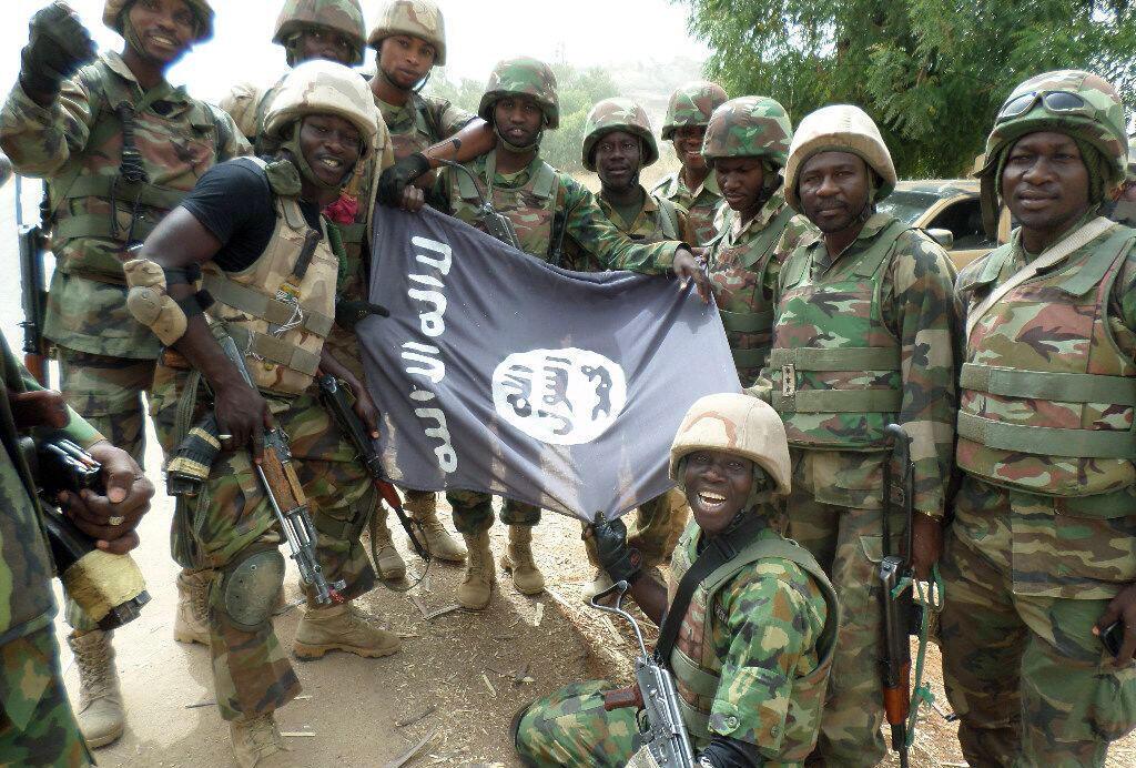 Wasu daga cikin sojojin Kamaru da ke yaki da Boko Haram a arewa maso gabashin Najeriya