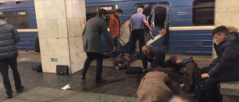 Uma explosão no metro de São Petersburgo, terá resultado em, pelo menos, 10 vítimas mortais. 03.04.2017