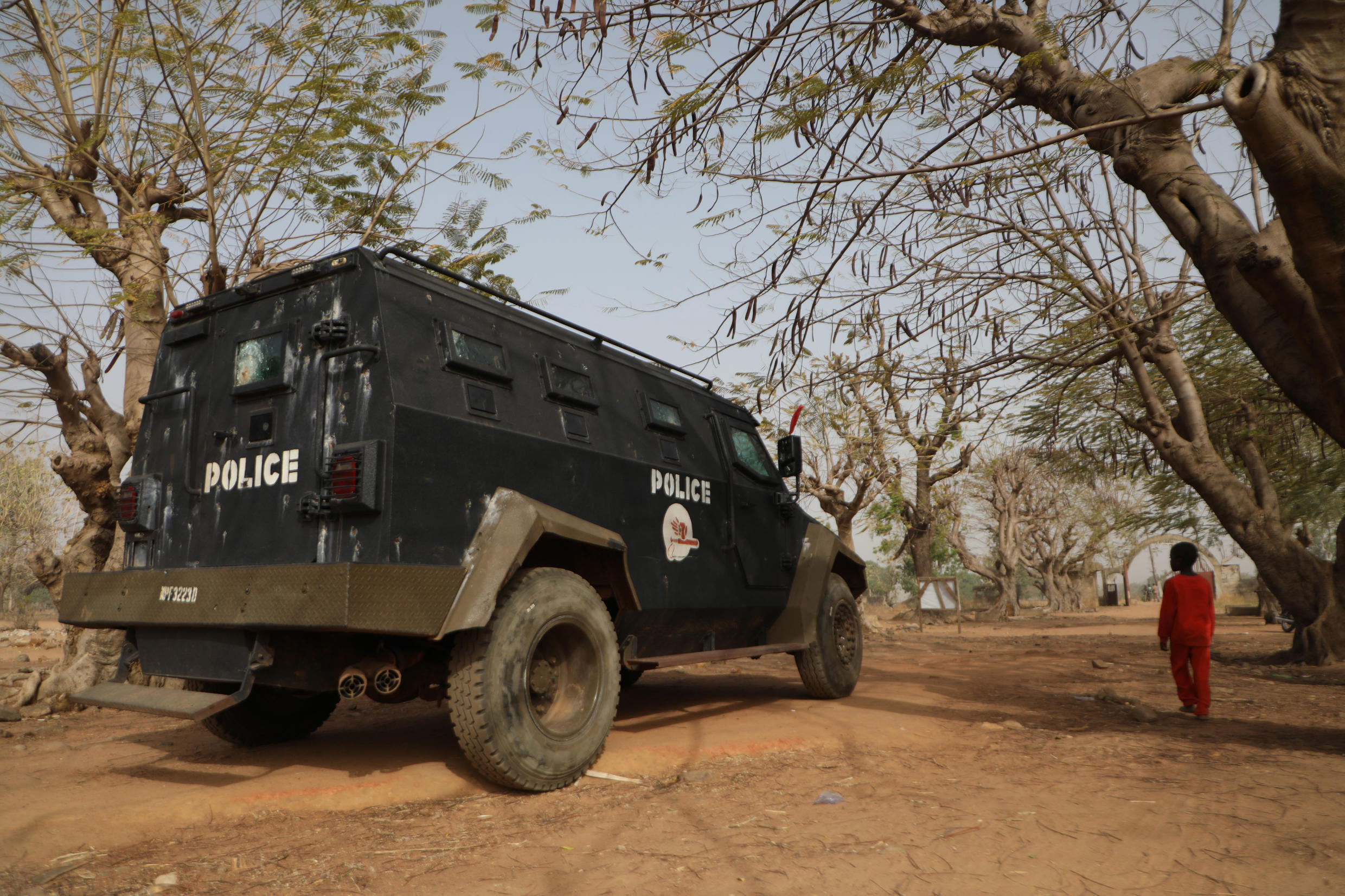Police and the military have joined forces to search for those abducted