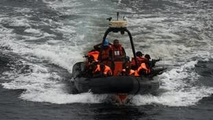 The Nigerian Navy has a special forces unit trained to intervene against pirates