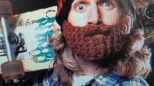 O boné de lã com barba integrada da grife Beardo foi adotado pelos skatistas.