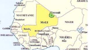 La région malienne de Tessalit