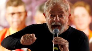 Antigo presidente brasileiro Lula da Silva.
