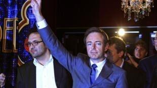 El independista del partido N-VA  Bart De Wever.