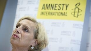 Женевьева Гарриго - председатель французского отделения Amnesty International (архив)