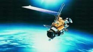 Fragmento del satélite UARS