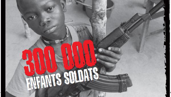 Ảnh minh họa (Chiến dịch chống bắt trẻ em làm lính của UNICEF)