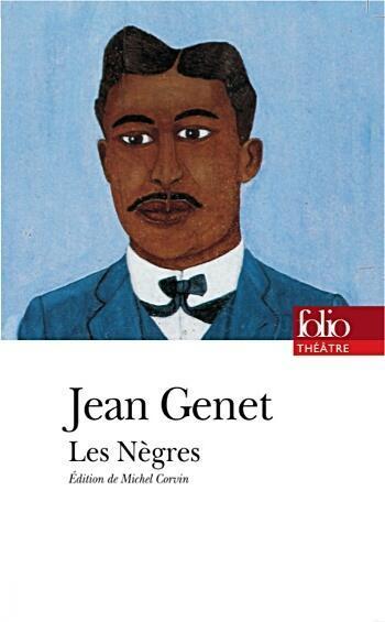 Visuel de la pièce «les-negres» de Jean Genet.