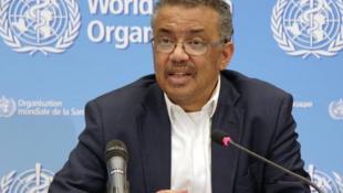 世界衛生組織總幹事譚德塞。