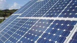 Solar energy is listed among the sources of clean energy.