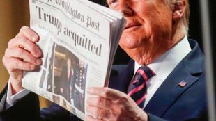 رئیس جمهوری آمریکا با اطمینان بیش از پیش به استقبال انتخابات ماه نوامبر میرود