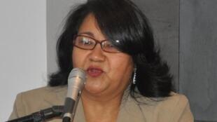 Migdonia Ayestas, coordinadora del Observatorio de la Violencia de la Universidad Nacional Autónoma de Honduras.