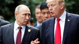 A misteriosa relação entre Trump e Putin pode selar o destino de 2018.