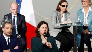 La ministre des Sports, Roxana Maracineanu, à l'Elysée, le 11 février 2020 (Photo d'illustration).