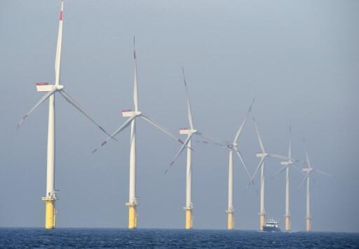 Une centrale éolienne. (Image d'illustration).