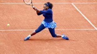 Serena Williams on poor form at Roland Garros on Thursday