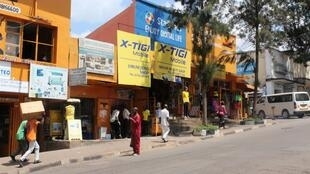 Rue du centre-ville de Kigali. (image d'illustration)