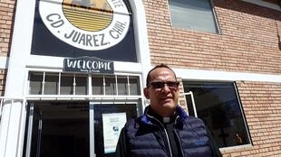 Le père Javier Calvillo dirige la Maison du migrant de Ciudad Juarez, s'apprête à faire face à une arrivée massive d'expulsés mexicains des Etats-Unis.