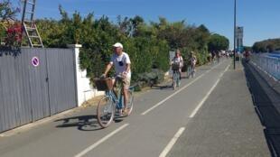 Tour de France : sur l'Ile de Ré, mardi 08 septembre 2020