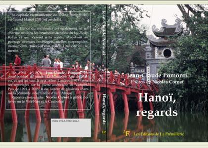 """Bìa sách """"Hanoi, regards"""" của J.C. Pomonti"""